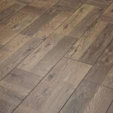 Dark Laminate Flooring Manor Plus Palace Oak With Light Grey Walls