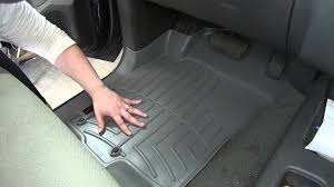 review of the weathertech front floor liners on a 2008 nissan