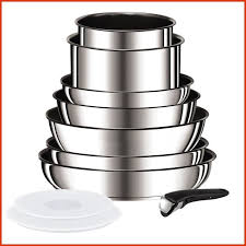 batterie cuisine inox batterie cuisine inox induction awesome tefal ingenio preference