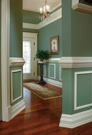 Two Tone Walls With Chair Rail neutral paint ideas with chair rail walls from scuffs and dents by