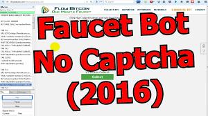 faucet bot no captcha 2016 youtube