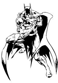 Batman Defending Gotham City Coloring Pages