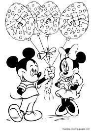 A Dozen Free Disney Mickey Coloring Page Printables