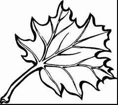 Great Fall Leaves Coloring Page With Color Pages And For Toddlers