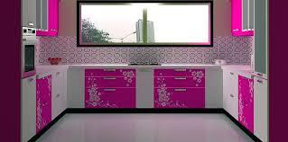 C Shaped Modular Kitchen Designed By Design Indian Visit