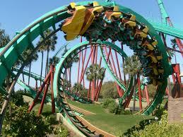 Kumba roller coaster Tampa Florida USA