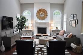 gray paint colors transitional living room benjamin