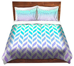 DiaNoche Duvet Covers Twill by Organic Saturation Ombre