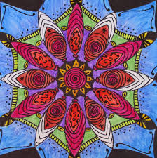 An Archetypal Symbol Of Wholeness The Mandala Was Used As A Therapeutic Art Tool By Psychologist Carl Jung Who Believed Creating Mandalas Helped Patients