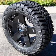 100 Nitto Truck Tires 20 Black XD Rockstar Wheels 35 Trail Grappler Ford F150