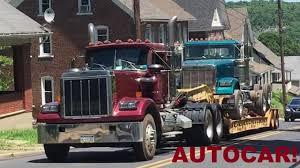 100 Bangor Truck Spotting Round W A Rare AutoCar More YouTube