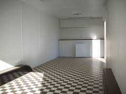 Checkerboard Vinyl Flooring For Trailers by Gallery Carson Deluxe Racer Enclosed Trailers Pac West Trailers
