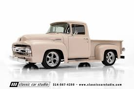 100 56 Ford Truck 19 F100 Classic Car Studio
