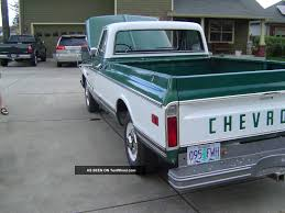 72 Chevy Truck 79k Survivir 402 Big Block 1972 Chevrolet Pickup ...