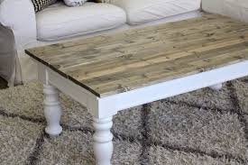 Plans For A Simple End Table by Farmhouse Coffee Table Plans With A Shutter Top