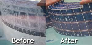 glass bead tile cleaning encino pool spa blasting salt