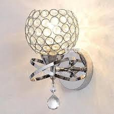 decorative silver wall lights designer and 9 h for bedroom