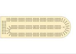 Cribbage Board Templates Image Collections Design Ideas