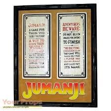 Jumanji Original Movie Prop