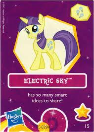 electric sky my pony friendship is magic wiki fandom