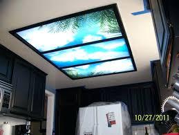 kitchen light panels soften fluorescent lights decorative kitchen