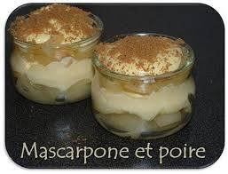dessert avec mascarpone rapide dessert poire et mascarpone à lire