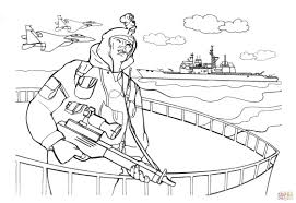 Click The Navy SEALs Soldier Coloring Pages To View Printable