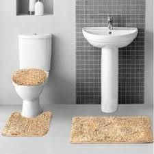 Camo Bathroom Rug Set by Layla 3 Piece Shag Bathroom Rug Set Bath Mat Contour And Seat