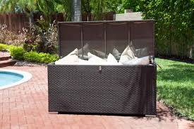 Keter Glenwood 390 Litre Deck Box by Waterproof Patio Cushion Storage Choice Comfort Your Cushions