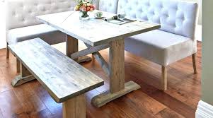 Dining Table Bench Seat Cushions With Corner Outstanding