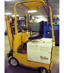 100 Yale Lift Trucks YALE Type E 2000 Lbs Electric Powered Fork Truck Model