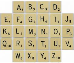 what font is used on scrabble tiles typefaces and fonts