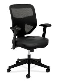Office Essentials: HON Prominent Leather Task Chair - High Back Mesh ... Ki Impress Ultra High Back Task Chair Flash Fniture Black Leather And Mesh Swivel Buy Cs Alpha 3 Lever At Mighty Ape Nz Office Essentials By Ofm Ess3050 3paddle Ergonomic Amazoncom Boss Products B1002bk In Via Seating Brisbane Highback Executive Ofx Office Arista With Arms Ofpdirect Gray Galaxy Designer Adjustable Height Homall Pu Computer Desk