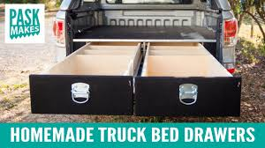 Homemade Truck Bed Drawers - YouTube Dodge Ram 1500 Utility Bed Fresh Homemade Truck Tie Downs Made The 21 New Trailer Camper Bedroom Designs Ideas Diy Weekend Youtube Diy Bunk Beds For Rv 22 Ft 11 Pickup Hacks Family Hdyman Pvc Bike Rack And In Kayak Carrier For Trucks Wwwtopsimagescom Buildout 201 How To Maximize Interior Space In Your Vehicle Vanvaya Bed Drawer Plans Homemade Pickup Storage The Ideas Shouldn Slide Black Inspiration Home Cheap Build Album On Imgur Customtruckbeds Options Carrying A Rtt Truck Overland Bound Community