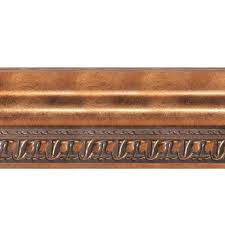 Fasade Ceiling Tiles Home Depot by Fasade Grand Baroque 1 In X 6 In X 96 In Wood Ceiling Crown