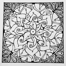 Samdala 001 Square Mandala Hand Drawn Design By Available From MandalaShambala On Etsy