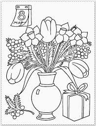Download Coloring Pages Spring Flower Flowers Printable To