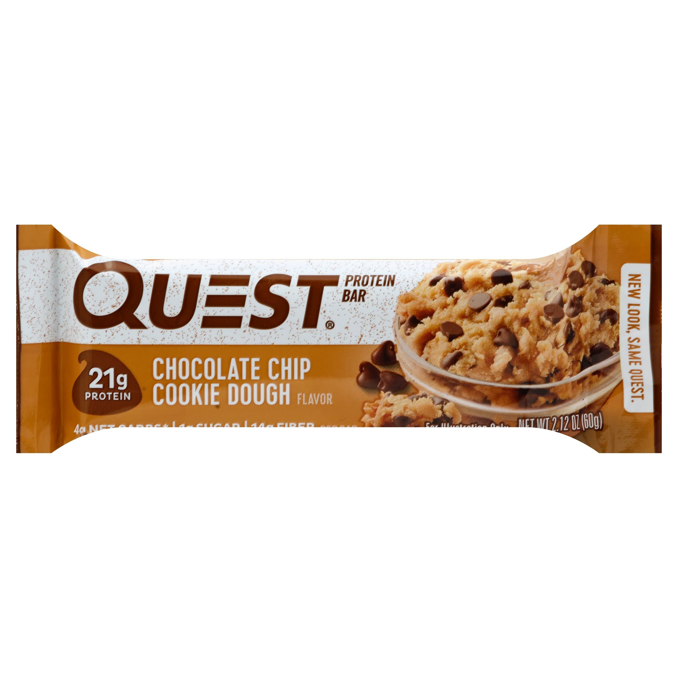 QuestBar Protein Bar - Chocolate Chip Cookie Dough