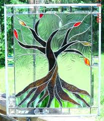 Stained Glass Tree Patterns Of Life Trees Free Christmas Birch