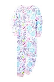 Footless Baby Pajamas Girls Fleece – VictoriaJacobs