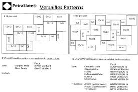 Versailles Tile Pattern Travertine by Technical Info Petraslate Tile U0026 Stone