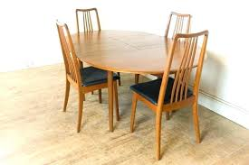 Danish Dining Room Chairs Teak Furniture Vintage Modern Set Oil Table Engaging Din Winning Mid Century