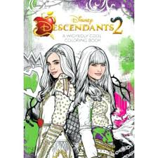 Descendants 2 Coloring Pages Mal Book Printable In Pretty Unique Collection Free