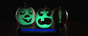 Glow In The Dark Plastic Pumpkins by Glowing Pumpkins Halloween Science Science Experiments Steve