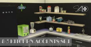 Kitchen Accents Set Conversions At Sims 4 Designs