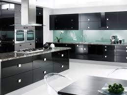 Cool Modern Kitchen Colors With Dark Cabinets