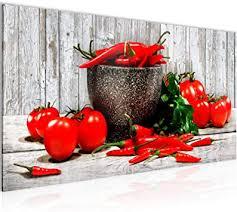 wandbilder küche gemüse modern vlies leinwand wohnzimmer