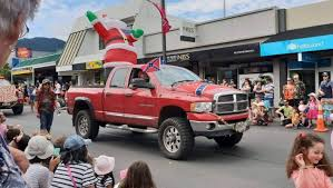 100 Game Truck Richmond Va Santa Parade Features Redneck Xmas Float Sporting