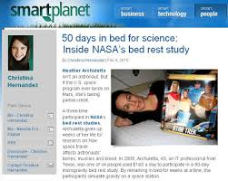 Nasa Bed Rest Study Requirements by Pillow Astronaut February 2010