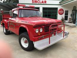 100 Old Fire Truck For Sale 1965 Dodge Power Wagon Pickup Fire Truck Power Wagons And 4x4s